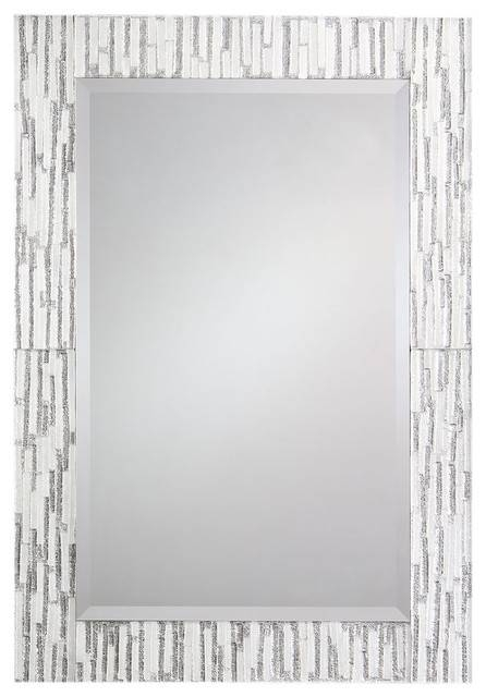 Modern Rectangular Venetian Mirror – Contemporary – Wall Mirrors Within Rectangular Venetian Mirrors (#10 of 30)