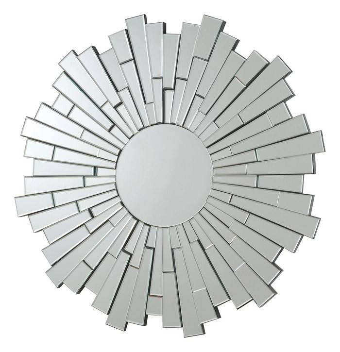 Modern Round Wall Mirror Pertaining To Contemporary Round Mirrors (View 10 of 20)