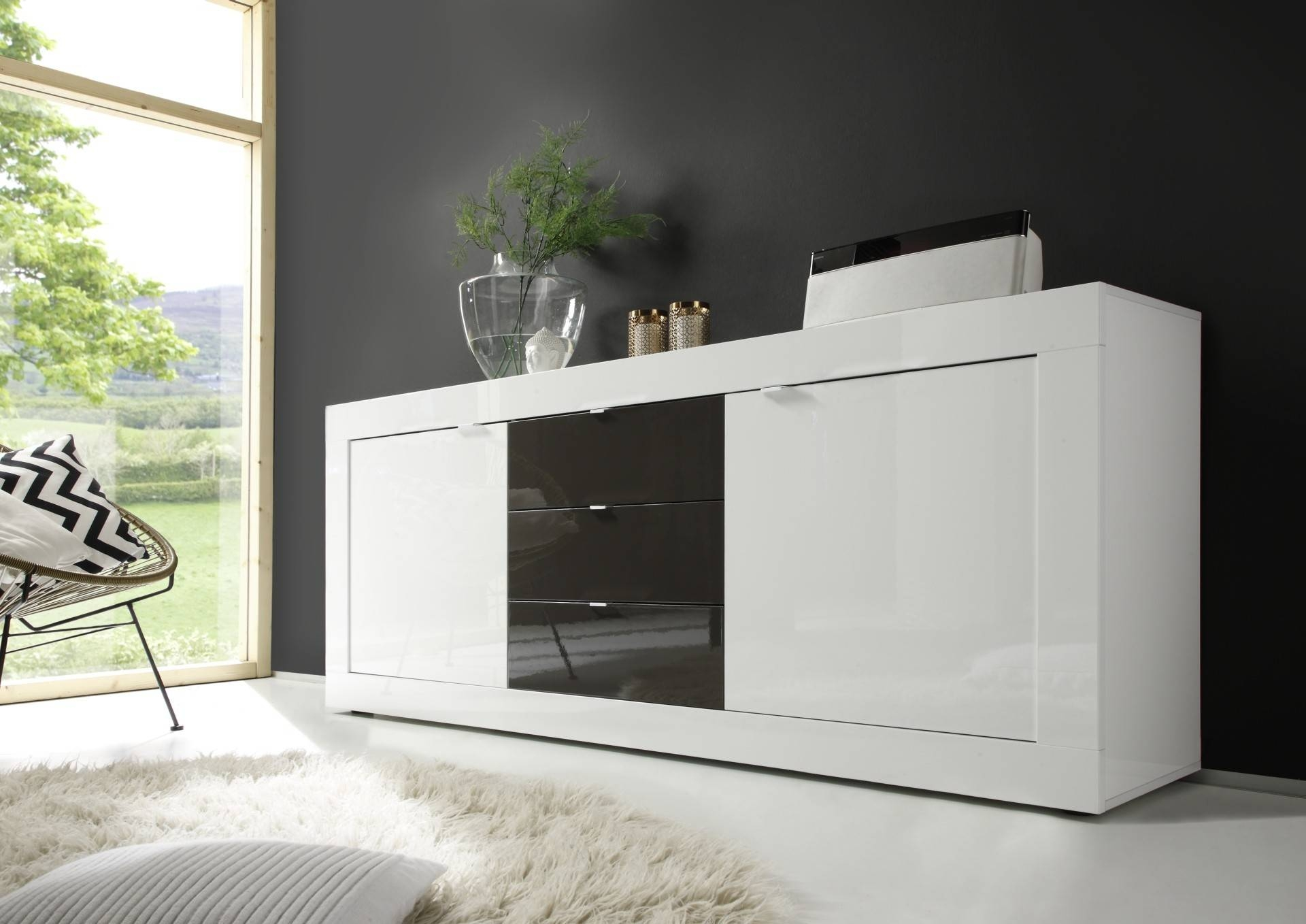 Modern Sideboards – Page 2 – Sena Home Furniture With Regard To Grey Gloss Sideboard (#12 of 20)