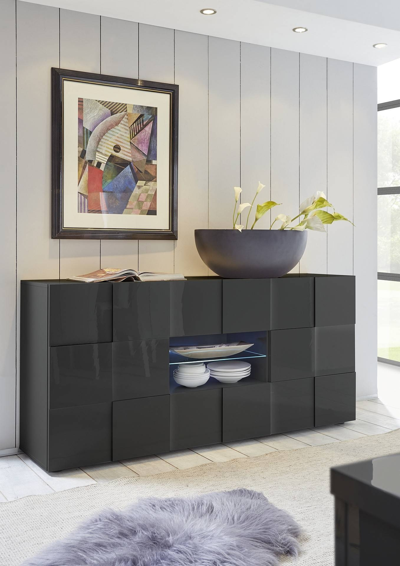 Modern Sideboards Uk – Page 2 – Sena Home Furniture With Regard To Grey Gloss Sideboard (#13 of 20)