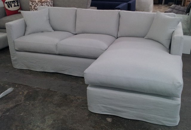 Modern Sofa Slipcover Leather Sectional Sofa In Slipcover For Leather Sectional Sofas (#4 of 15)