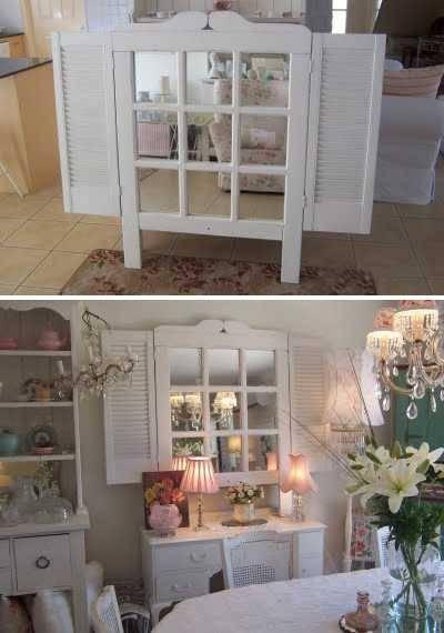 Modern Window Mirror Designs Bringing Nostalgic Trends Into Home Pertaining To Window Shutter Mirrors (#24 of 30)