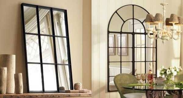 Modern Window Mirror Designs Bringing Nostalgic Trends Into Home Regarding Window Mirrors (#20 of 30)