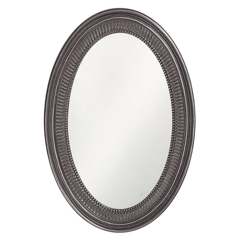 Mona Oval Oversized Wall Mirror & Reviews | Joss & Main Throughout White Oval Wall Mirrors (#19 of 30)