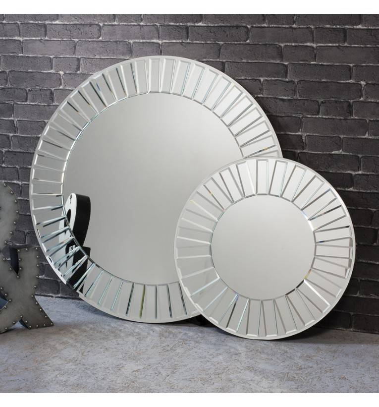Montana Large Round Mirror 93 Cm Montana Round Mirror 93Cm Throughout Large Round Silver Mirrors (#20 of 30)