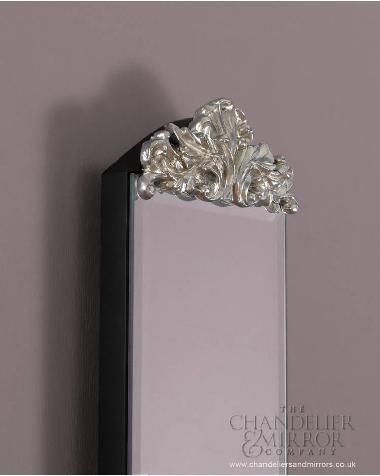 Montefiore Slim Frameless Venetian Wall Mirror Regarding Slim Wall Mirrors (View 15 of 30)
