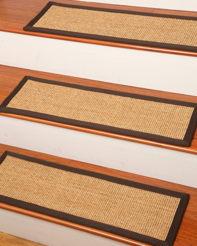 Montreal Carpet Stair Treads Natural Home Rugs Natural Home Rugs Regarding Set Of 13 Stair Tread Rugs (#14 of 20)