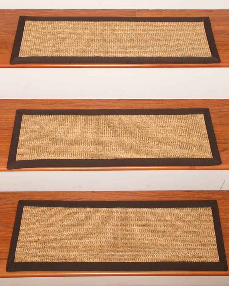 Montreal Carpet Stair Treads Natural Home Rugs Natural Home Rugs Throughout Natural Stair Tread Rugs (#14 of 20)