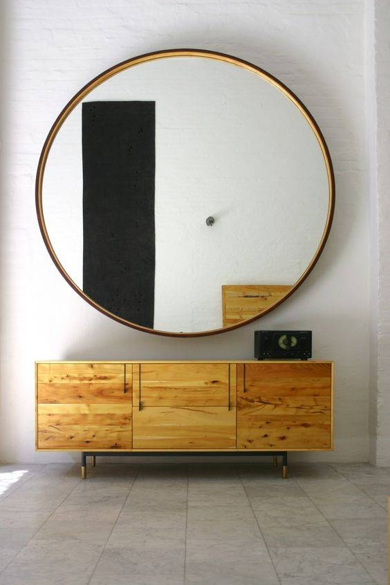 Mood Board Monday: Round Mirrors Under $300 Throughout High Grove Mirrors (#26 of 30)