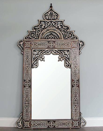 Moroccan Style Mirrormoroccan Large Wall Mirror Bathroom – Shopwiz Regarding Expensive Mirrors (#15 of 20)