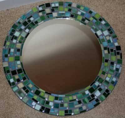 Mosaic Artpamela Lackie Throughout Round Mosaic Mirrors (#22 of 30)