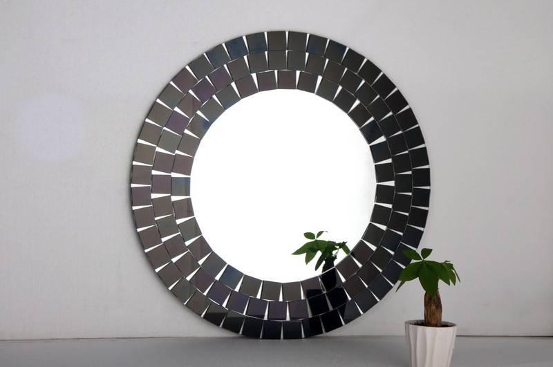 Mosaic Mirror Wall Decor (#19 of 30)