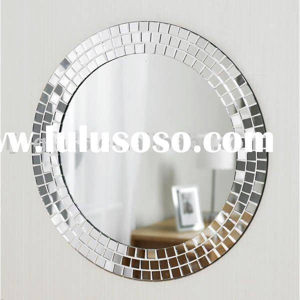 Mosaic Wall Mirror, Mosaic Wall Mirror Manufacturers In Lulusoso Inside Round Mosaic Wall Mirrors (#12 of 15)