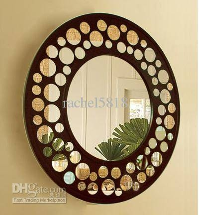 Mr 201157 Wooden Frame Glass Wall Mirror Art Shop Mirrors Shopping In Wooden Mirrors (#16 of 30)