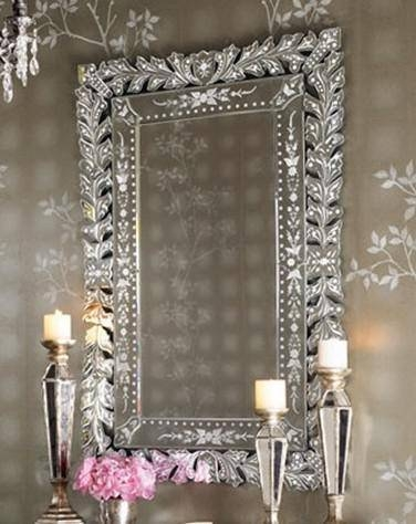 Popular Photo of Large Venetian Wall Mirrors