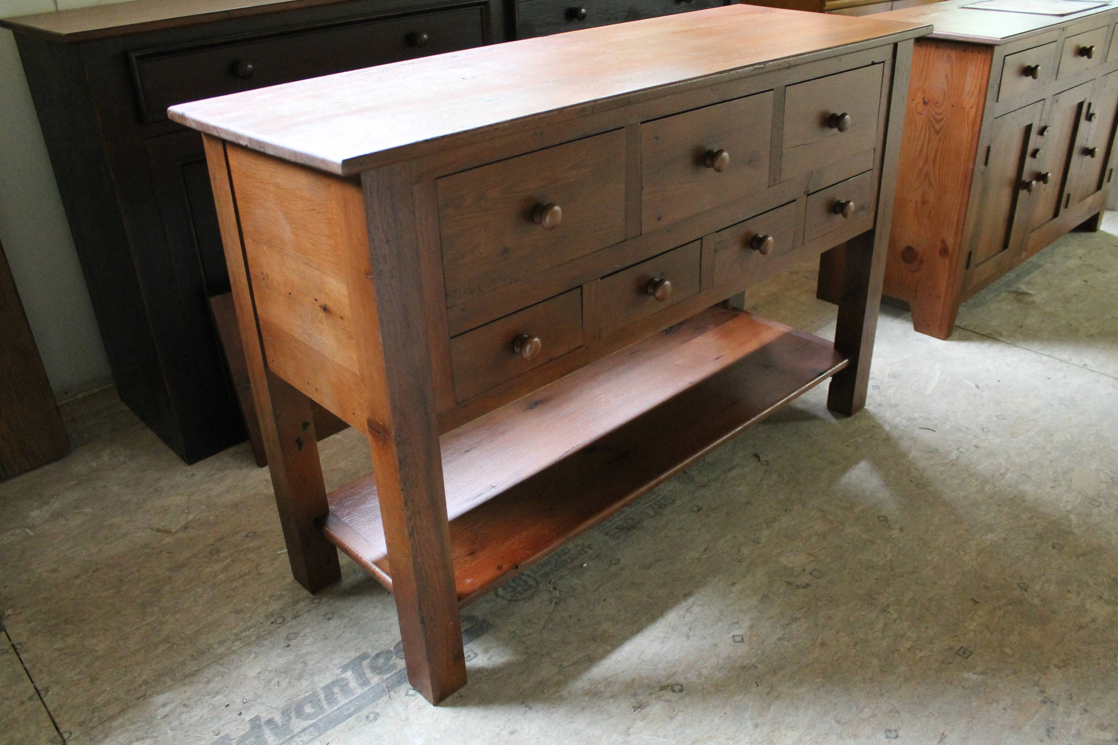 Multi Drawer Server – Lake And Mountain Home Intended For Multi Drawer Sideboard (#15 of 20)