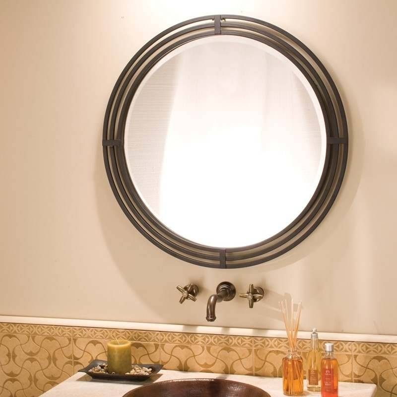 Native Trails Bathroom Mirrors Pertaining To Wrought Iron Bathroom Mirrors (#23 of 30)