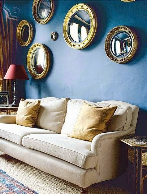Nautical Porthole Mirror Gallery Walls – Completely Coastal Pertaining To Porthole Wall Mirrors (View 19 of 20)