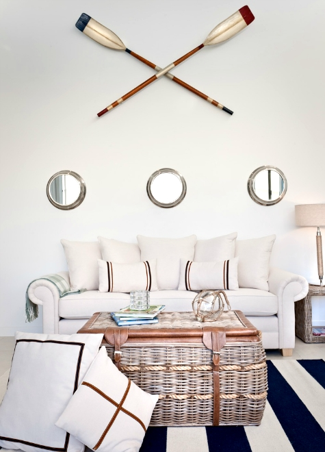 Nautical Porthole Mirror Gallery Walls – Completely Coastal Within Porthole Wall Mirrors (View 20 of 20)