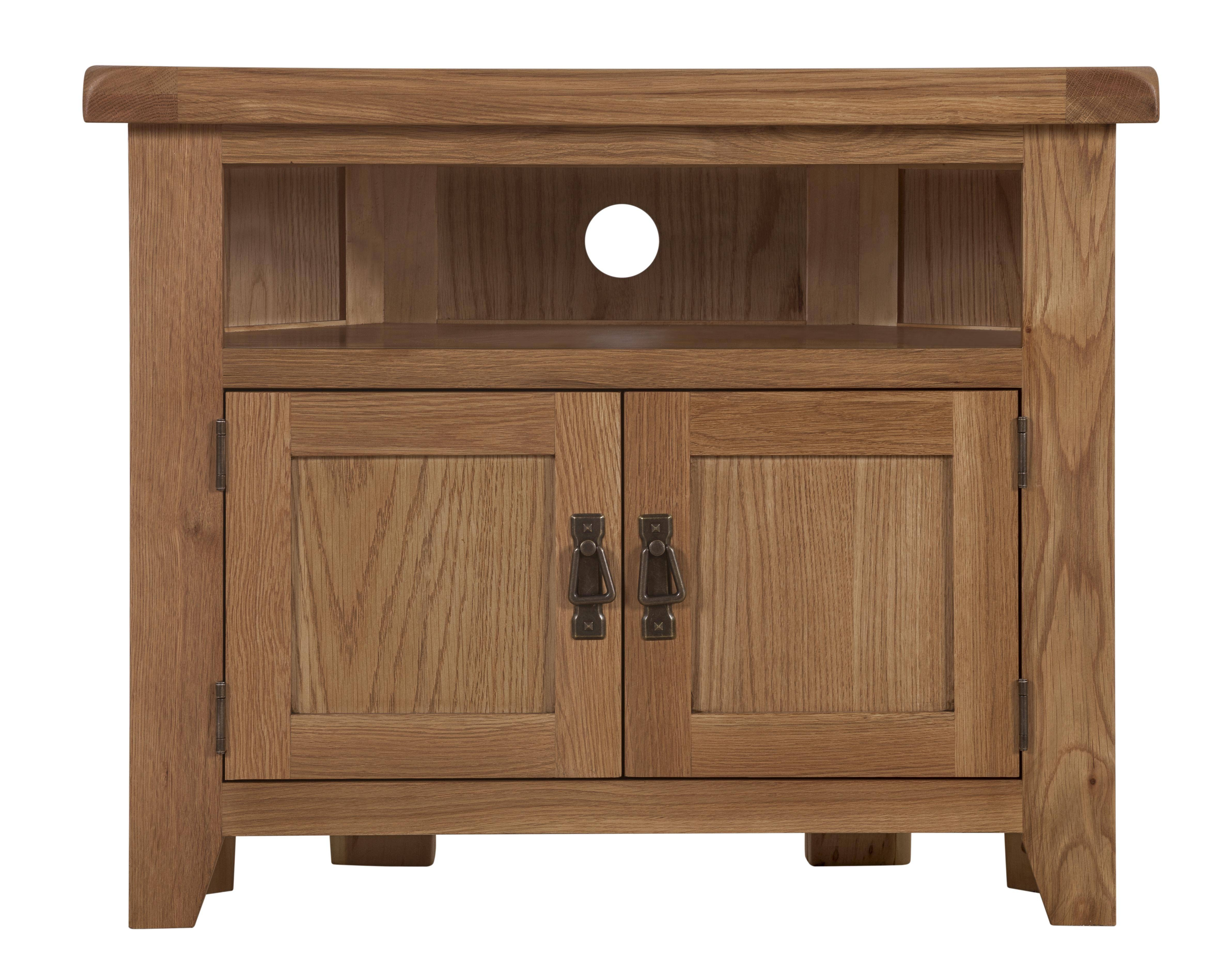 Ncf Living – Wexford Corner Tv Unit Pertaining To Corner Sideboard Unit (View 16 of 20)