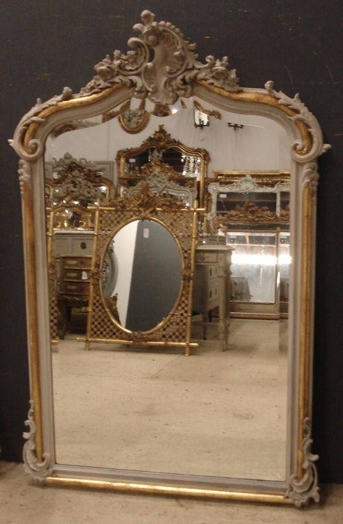 Near Pair Of Antique French Mirrors | 259715 | Sellingantiques.co (#16 of 20)