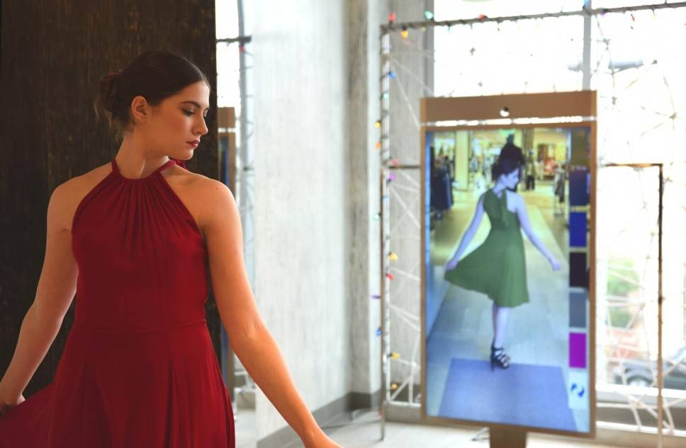 Neiman Marcus Upends Online Shopping With Digital Mirror With Regard To Shopping Mirrors (#20 of 30)