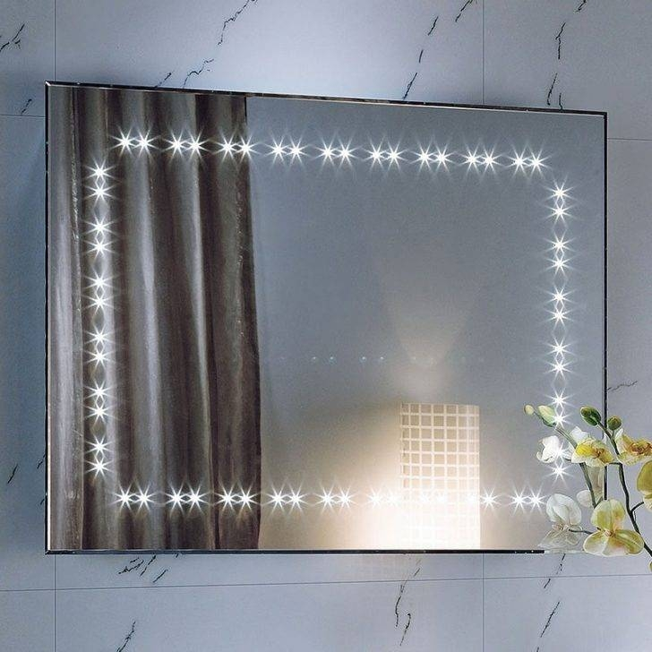 Neoteric Design Large Illuminated Bathroom Mirror Best Heated With Regard To Large Illuminated Mirrors (#27 of 30)