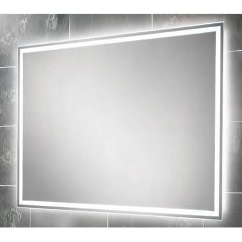 Neoteric Design Large Illuminated Bathroom Mirror Best Heated With Regard To Large Illuminated Mirrors (#26 of 30)