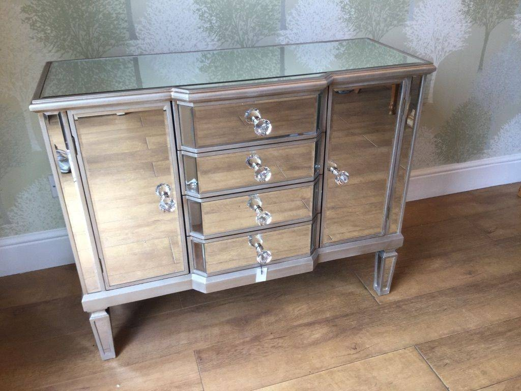 New Boxed Venetian Mirrored Sideboard (#13 of 20)