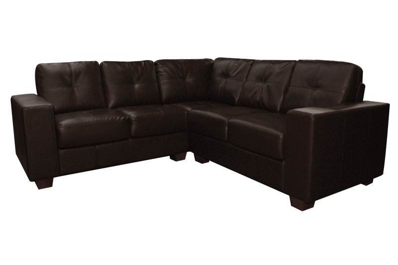 New Ideas Leather Corner Sofas With Corner Sofa Leather Brown Within Small Brown Leather Corner Sofas (#11 of 15)