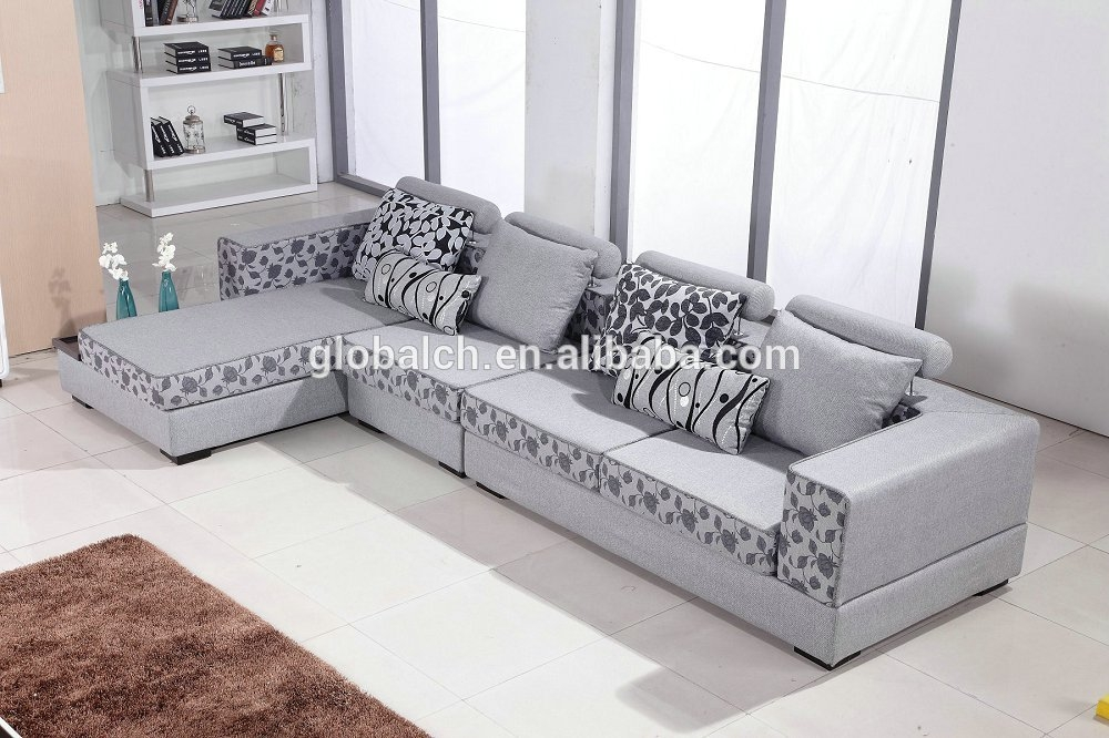 15 photo of l shaped fabric sofas for Sofas modernos en l
