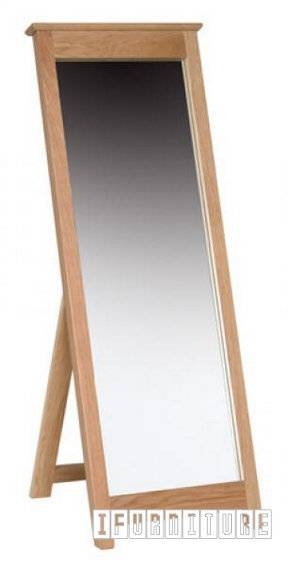 Newland Solid Oak Free Standing Cheval Mirror , Arts & Decoration For Free Standing Oak Mirrors (#14 of 15)