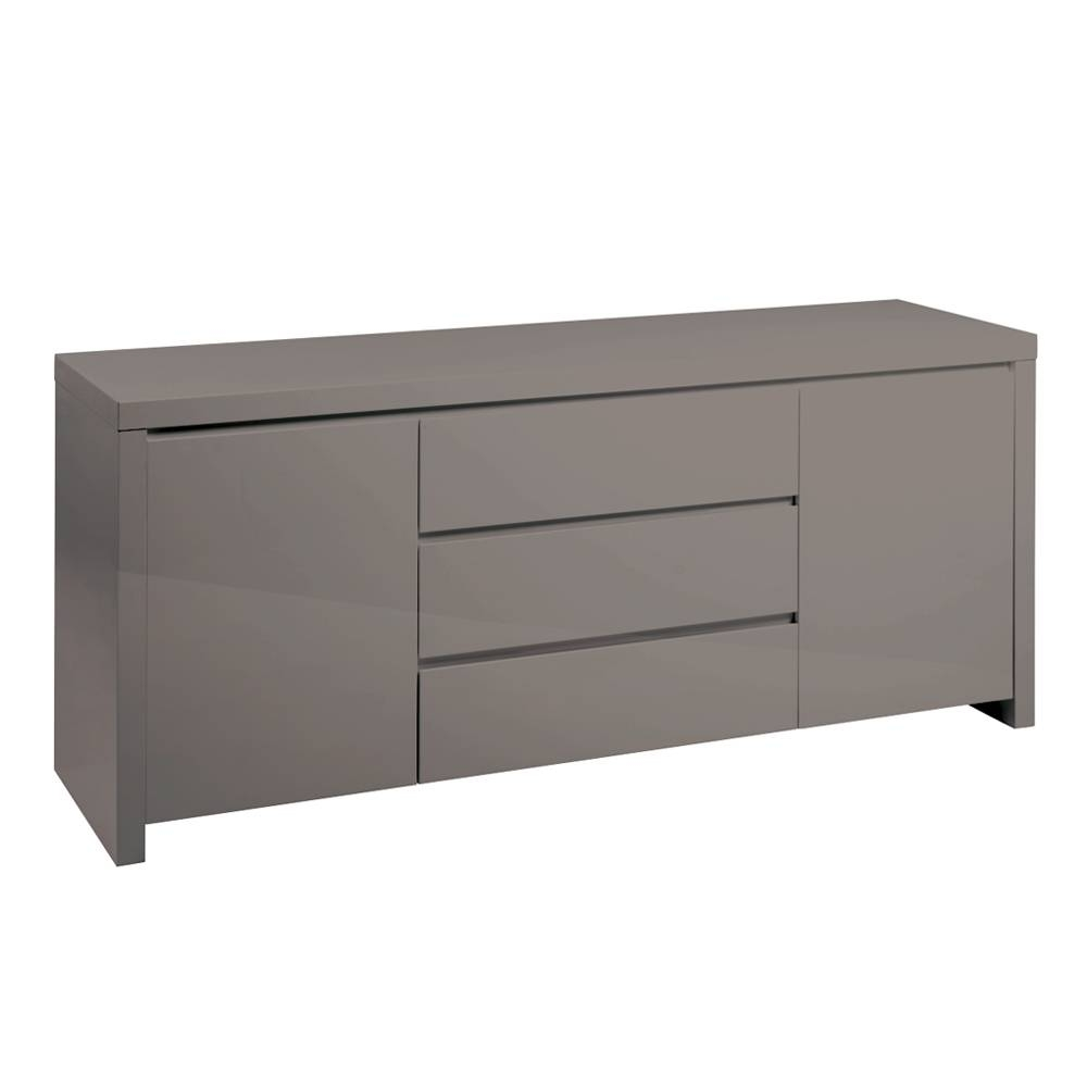 Newton Storage Sideboard Stone – Dwell Throughout Grey Sideboard (#17 of 20)