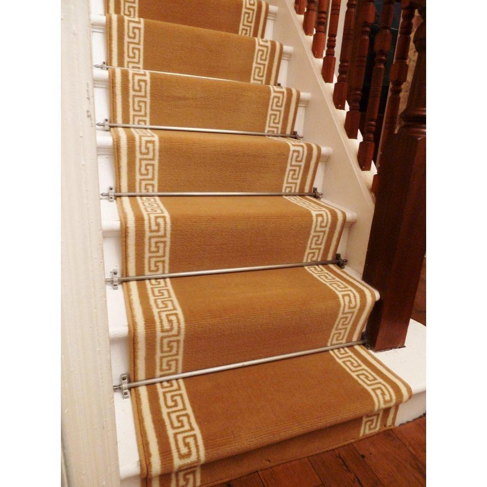 Nice Carpet Stair Treads Lowes Translatorbox Stair Intended For Oriental Carpet Stair Treads (#11 of 20)