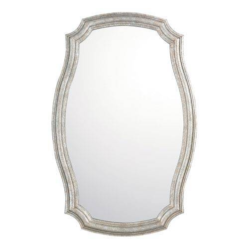 Nickel Brushed Mirrors | Bellacor Pertaining To Oval Shaped Wall Mirrors (#11 of 15)