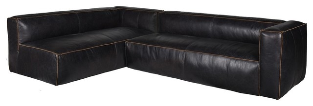 Popular Photo of Leather Modular Sectional Sofas