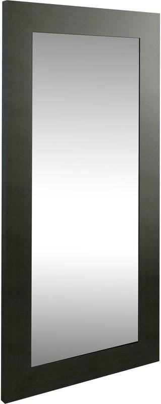 Norfolk Wall Mirror & Reviews | Allmodern Intended For Long Black Wall Mirrors (#23 of 30)
