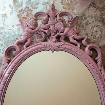Nursery Wall Mirror ~ Thenurseries Regarding Large Pink Mirrors (#25 of 30)