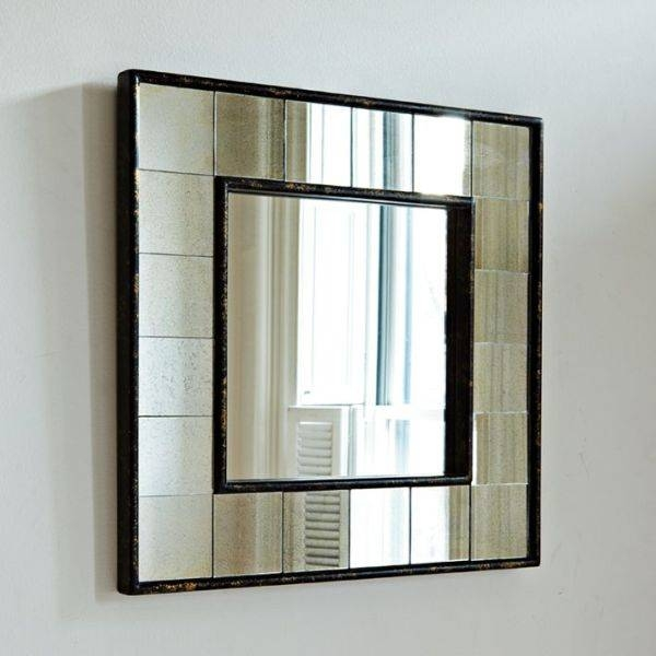 Oak Antique Wall Mirror And Large Living Room Mirrors Likewise Inside Large Square Mirrors (#24 of 30)