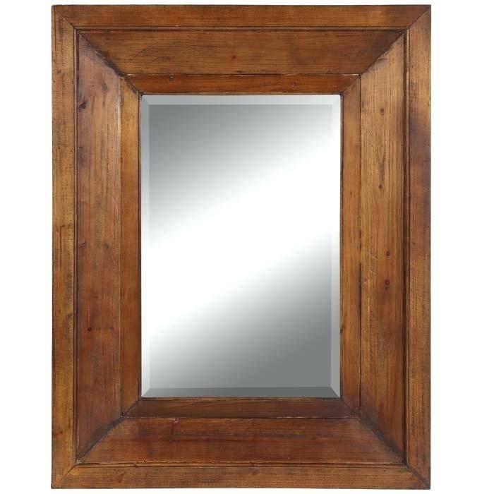 Oak Framed Mirrors For Sale Wood Bathroom Uk – Shopwiz Within Large Oak Framed Mirrors (#17 of 20)