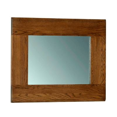 Oak Mirror | Oak Framed Mirror | Furniture Plus With Regard To Rustic Oak Mirrors (#13 of 20)