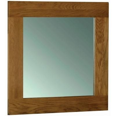 Oak Mirror | Oak Framed Mirror | Furniture Plus Within Rustic Oak Mirrors (#14 of 20)