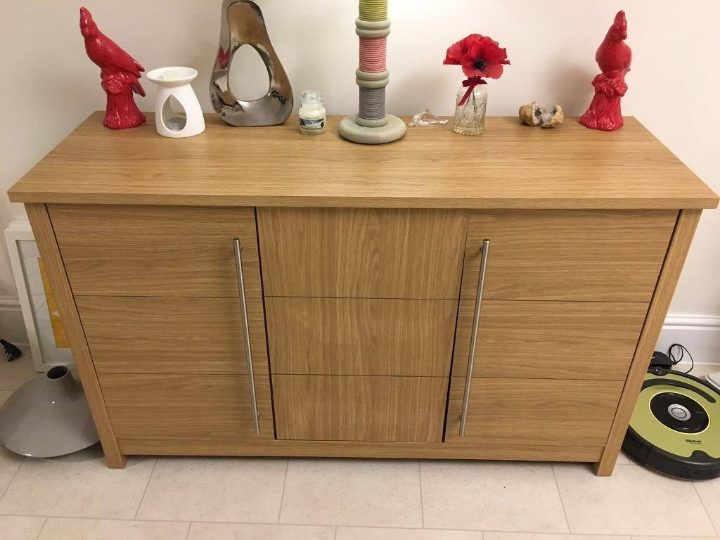 Oak Ready Assembled Sideboard (Norfolk) | Home & Garden In Ready Assembled Sideboards (#12 of 20)