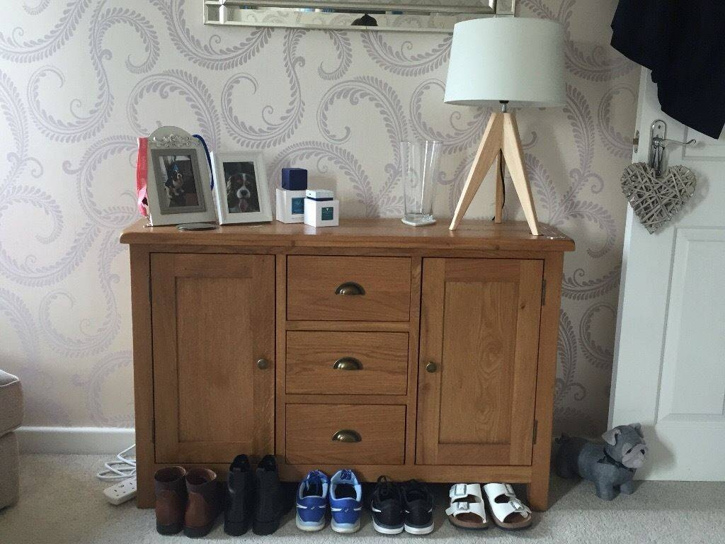 Oak Sideboard For Sale. Bought In September (View 20 of 20)