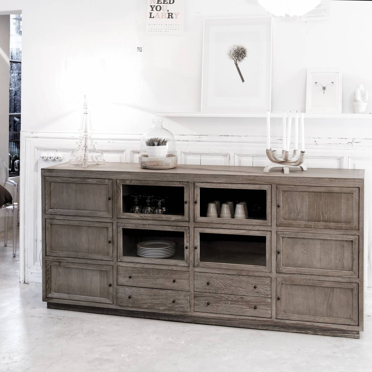 Oak Sideboards Sale – Solid Oak Sideboards Sale At Tikamoon Pertaining To Sideboard For Sale (#13 of 20)