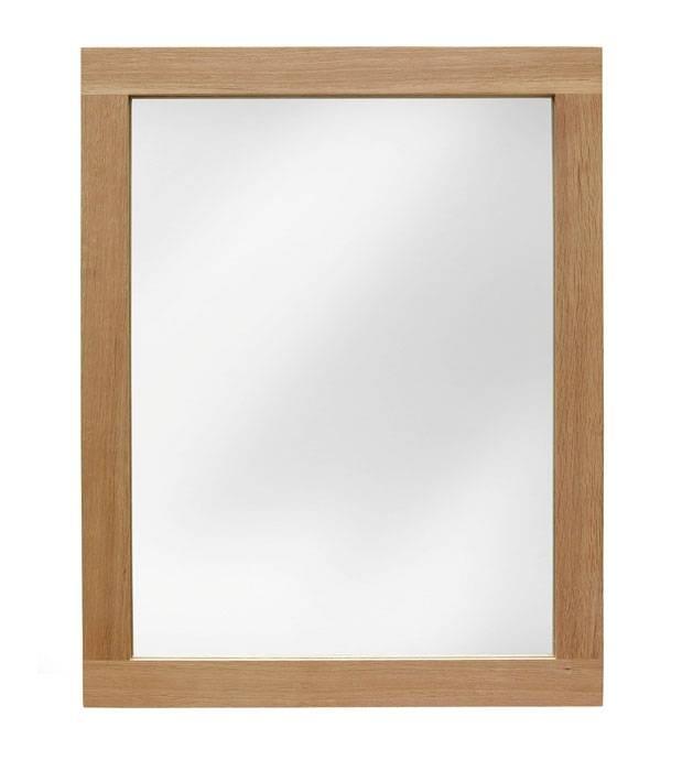 Oak Wall Mirror – Sherwood Oak Range With Oak Wall Mirrors (#10 of 15)