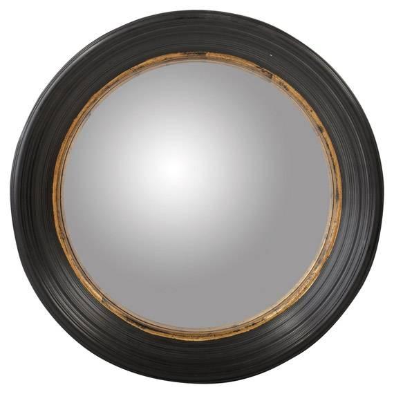 Oban Large Mirror, Large – Oka In Large Round Black Mirrors (#28 of 30)