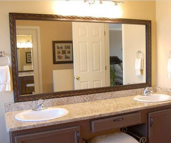Oil Rubbed Bronze Frame | Bronze Framing | Mirrormate Frames Pertaining To Large Bronze Mirrors (#27 of 30)