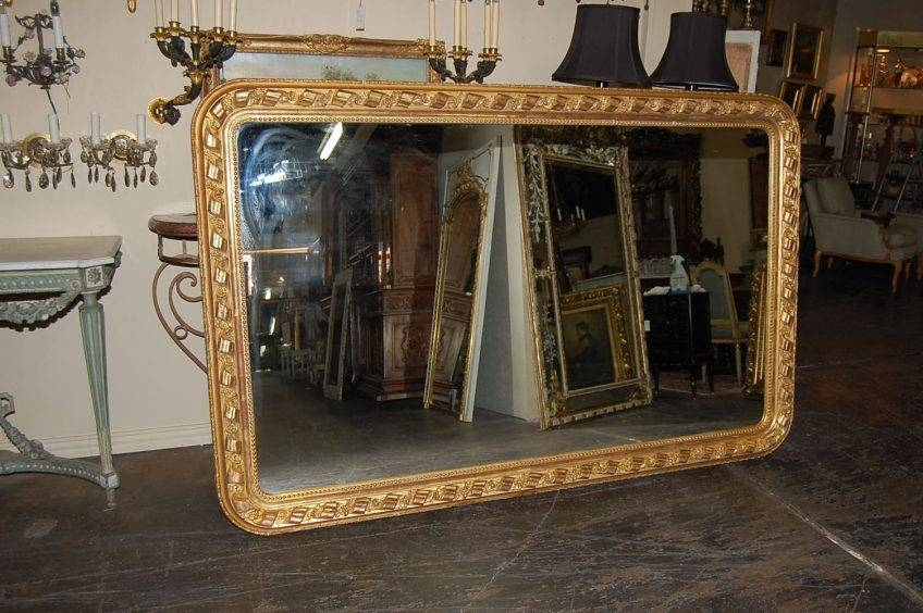 Old Mirrors For Sale 127 Cool Ideas For Large Antique Mirror Large Pertaining To Large Old Mirrors (View 26 of 30)