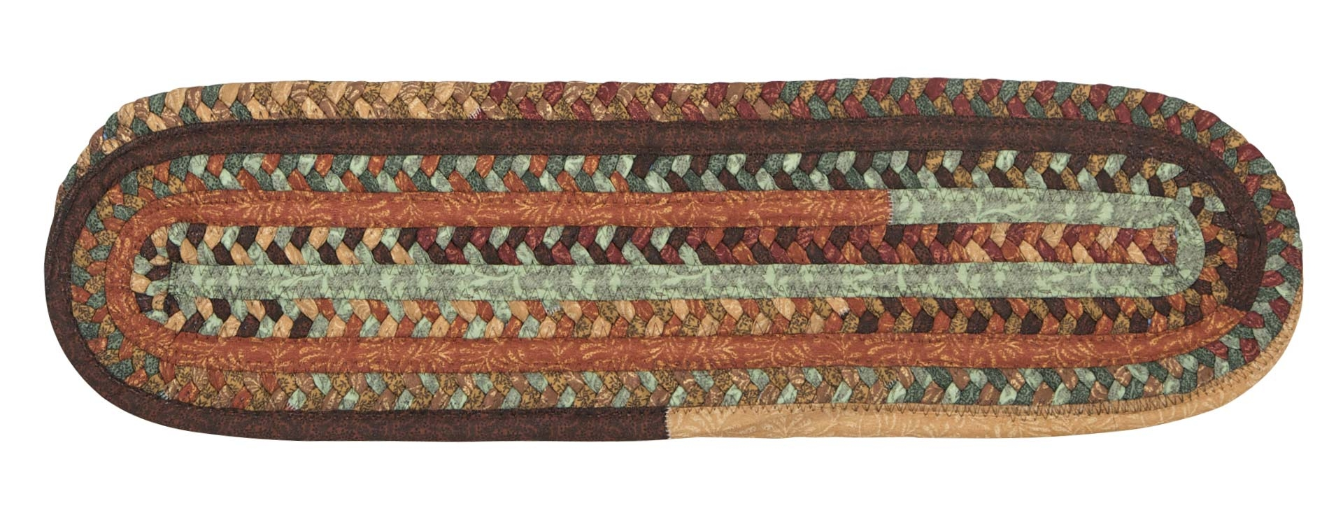 Olivera Stair Treads Colonial Mills Cmi Braided Rugs Outdoor With Regard To Colonial Mills Stair Tread Rugs (#12 of 20)